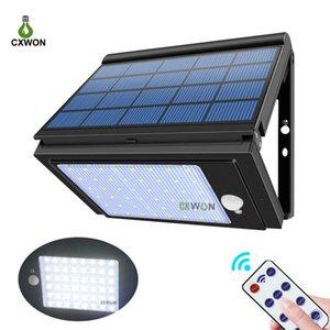 Les plus récents lampes solaires 1000LM PIR Capteur de mouvement 6 Modes de fonctionnement Lampe de jardin Solaire Lampe d'extérieur pour jardin Balcon de jardin de jardin