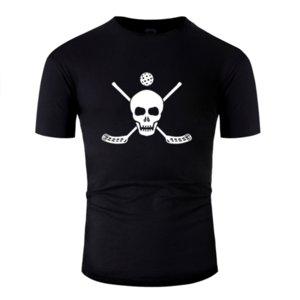 Nuevo regalo del humor Floorball perfecto cumpleaños de la moda camiseta de manga corta de 2020 hombres de traje ropa de la camiseta Anti-Arrugas