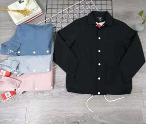 Jacket Mens com duplo gancho 4 Letters Imprimir Jacket Homens Mulheres Único Breasted Outono de alta qualidade Net Forro 4 cores M-4XL