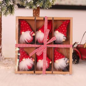 Ev Natal Navidad 2020 Dekor Yeni Yıl Hediye Sevimli Yılbaşı Hediyeleri Set Doll Xmas ağacı Süsleme Noel Deco Noel Dekorasyon