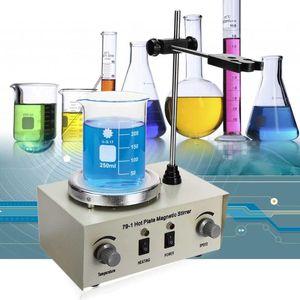 110 / 220V Placa Aquecimento Magnetic Agitador Lab Mixer Máquina 79-1 1000ml Hot Magnetic Agitador Lab dupla Controle Mixer para agitação