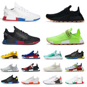 القادمون الجدد Adidas NMD الاحذية للرجال والنساء مشرق نغمات فولت المائية مكسيكو سيتي الذهب المعدني احذية Brethable الرياضة