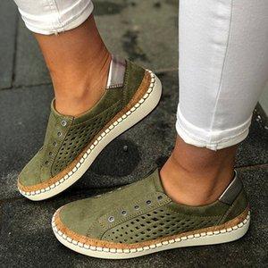 Vogue Nizza Breathable Frauen vulkanisierte Schuhe Frauen-beiläufige Schuh-Mode aushöhlen Turnschuhe Leichte Wohnungen Torridity