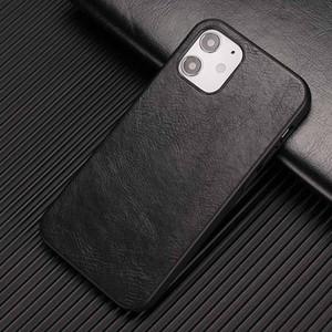 En Yeni Deri telefon kılıfı Buzağı desen Yumuşak PU Deri Arka Kapak iphone 12 için 11 Pro Max Xs XR Samsung M31 A01 x