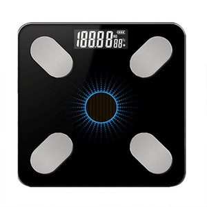 Bluetooth Electronic Scale Body Fat Scale Weight Scales Weighing for body Digital Weight Scales Toughened Glass LCD Display 1PC