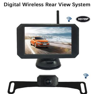 5 Inch Car Wireless Monitor Display LCD Sn with Waterproof Night Vision Rear View Reverse Backup Camera WX5311D
