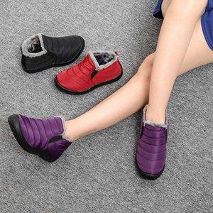 Men Boots Lightweight Winter Shoes For Men Snow Boots Waterproof Winter Footwear Plus Size 47 Slip On Unisex Ankle