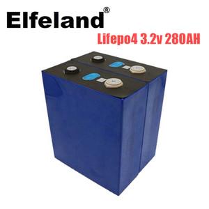 nouvelle de 3.2V 280Ah batterie carrée lifepo4 bricolage 12V 280AH Pack rechargeable pour scooter électrique RV système de stockage solaire