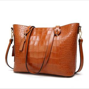 Di vendita calda europea e americana della moda borse borsoni spalla del modello donna coccodrillo crossbody borsa zaino