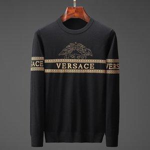 Herren Strickpullover Дизайнер пуловер Herren O-Ausschnitt Lässige Strickpullover пуловер Herren Lange пуловер Berühmte Marke Damen Pullo