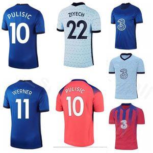 Sur mesure 10 PULISIC 9 Abraham 20-21 22 ZIYECH 11 Werner 29 Havertz 28 19 Azpilicueta Mont 24 Cahill Thai Les maillots de football de qualité