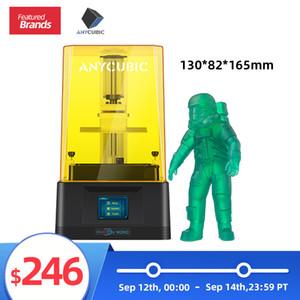 Ön Satış Yeni ANYCUBIC Foton Mono 3D Printer 130 * 82 * 165 mm 3D Baskı SLA LCD UV Yüksek Hızlı Reçine Yazıcılar Impresora