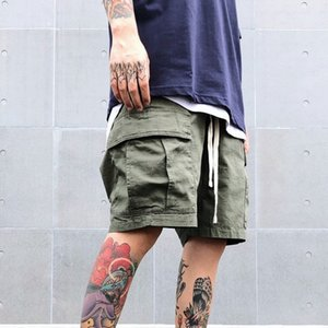 FEAR OFF GOD Essentials CARGO SHORTS FFOG Top Quality Hin Hop Shorts Summer Beach Basketball Mens Short Pants HFWPDK025