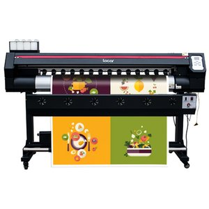 Best eco solvent printer Locor 1.6m easyjet with two dx5 heads car sticker outdoor solvent printer