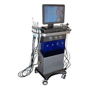2020 Yeni Cilt Bakımı 9 1 elmas hidra dermabrazyon facila derin temizleme makinası Çok Fonksiyonlu yüz nemlendirici / Güzellik salonu ekipmanları içinde