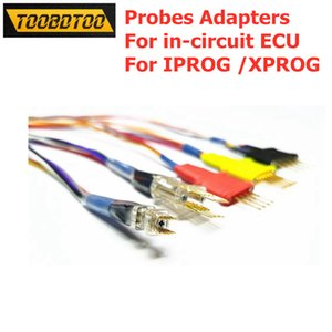 Senza Set adattatori di saldatura 5pcs / Sonda per in-circuit Cavi ECU Lavori Per Iprog / XPROG Sonde adattatori Cable diagnostico dell'automobile