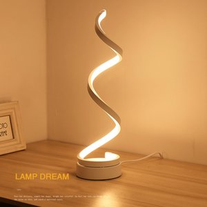 led eye-care desk lamp bedroom bedside lamp creative personality Nordic American living room romantic desk lamp