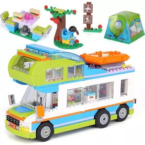 550pcs Small Building Blocks Toys Compatible with e Magic Sparkling Ice Castle Gift for girls boys children DIY City house car