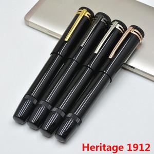 grado superiore Heritage Series 1912 telescopici rotativi nere penne ufficio di cancelleria M pennino scrittura fontana inchiostro penna per il regalo di Natale