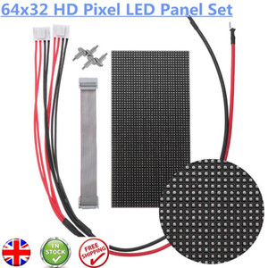 LED signe écran couleur intérieure pleine de pixels Panneau d'affichage Matrice P3 RVB affichage vidéo HD 64x32 LED Module d'écran 2121SMD