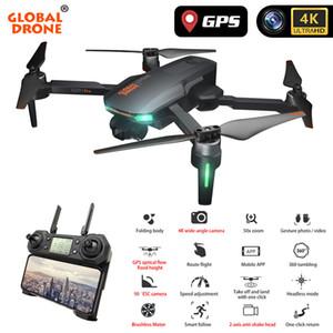 Profesional Quadrocopter 4K GPS aviones no tripulados con la cámara de 2 ejes Anti-Shake Servo cardán de retorno automático Follow Me Dron VS FIMI Zino