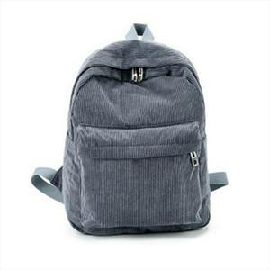 Mulheres saco bonito Corduroy Viagem Mochila Escolar Book Bags Para Adolescente Meninas Lady Midi Shoulder Bag Feminino Mochila