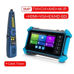 Tester CCTV Moniteur caméra CCTV caméra IP moniteur test testeur AHD IPC sécurité poe