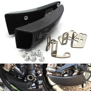 Brake System Air Cooling For YZF-R1  R1M  R1S 15-19 YZF-R6 2020-19 Carbon Fiber Ducts + Mounting kit