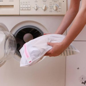 Polyester Mesh Laundry Bag Polyester Washing Mesh Bag Underwear Socks Washing Machine Clothes Bra Bag