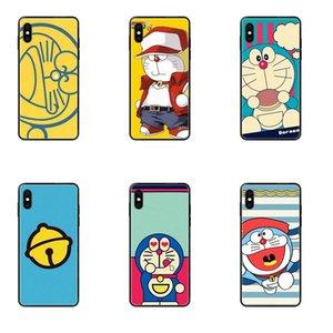 아이폰 11 12 프로 5 5S SE 5C 6 6S 7 8 X 10 XR XS 플러스 최대 귀여운 일본 만화 도라에몽 소프트 TPU 케이스 카파 커버
