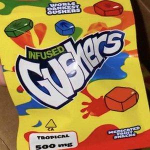Tasche Nerdsrope Verpackung Süßigkeit Green Bag Edibles Gummy Gushers dankest Welten 500mg Nerds Gusher Sour Seil Infundiertes Gushers sqcYj bbgargden
