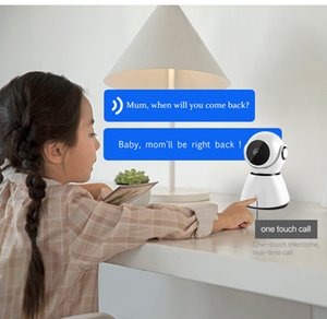 HD 1080P Wireless IP Camera Household Surveillance Baby Monitor Camera 360° Ratation Two way Audio Smart Robot Home Security