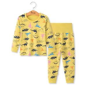 Children Long Sleeve Pajama 2pcs Suit Baby Boy Girl Sleepwear Kids Autumn Christmas Clothes Set For Boys Girls Nightwear Outfit