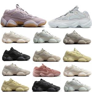 2020 New 500 Chaussures de course pratique Noir Jaune Blanc Hommes Femmes Stylist Fashion Casual Party Couple Sneakers 36-45 avec la boîte