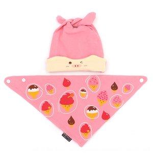 CdJ8Z Чистого хлопка младенец Four Seasons пуловеры треугольник полотенце набор мультфильм сон треугольник полотенце крышка пуловер крышка шины шлем Princess Mother ч