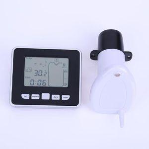 SOLLED Ultrasonik Sıvı Seviye Sensörü Su Seviyesi Sensörü Verici Kapalı Alıcı