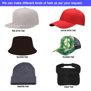 customized caps 3D embroidery logo flat brim tennis hip hop hat tour full close fitted trucker baseball sport custom hat custom snapback cap