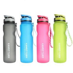1000ml eau Eco Kettle Shaker Drinkware Waterbottle plastique en plein air Espace Sports Cyclisme bienvenus Bouteille DtHSA mx_home