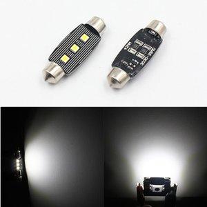 FSYLX 자동차 꽃줄 LED 전구 CANBUS 오류 31mm의 36mm에서 39mm의 41mm는 3030 3SMD 꽃줄 C5W C10W는 LED 실내 돔 조명 램프 트렁크
