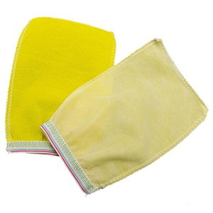 Disposable Morocco bath gloves scrubbing exfoliating gloves hammam scrub mitt magic peeling gloves exfoliating tan removal mitt OWD1869