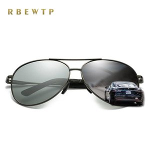 RBEWTP 2020 объектив Фотохромные Спорт поляризованные очки Мужчины день Вождение и очки ночного видения солнцезащитные очки очки 8011
