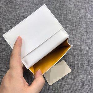 Visitenkarteninhaber Kreditkarteninhaber Top Qualität Paris Stil Männer Frauen Berühmte Echtes Leder Mini Geldbörse mit Kasten Staubbeutel