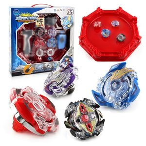 Spin Tops Gyros Burst Stadium Arena Bayblade Metal Funsion 4D Blades Toys With Launcher And Handle With Box #EMX190926
