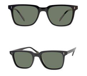Marca epoca uomini Occhiali da sole quadrati Oliver occhiali da sole polarizzati donne verde scuro lenti polarizzate Occhiali da sole OV5031 con i vetri di sicurezza