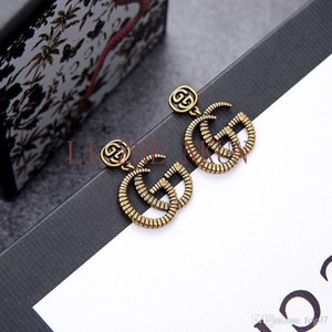 New Personality Earrings Luxury Design High Quality Brass Earrings for Woman Trend Earrings Fashion Accessories Supply Wholesale