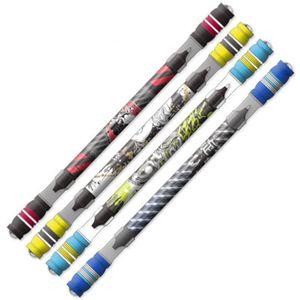 Rotierende Coated Spin Rollrutsch Gaming Spinning Matting Finger Refill Pen Non Stift Tinte Spielen Cool Blue Kugelschreiber sweet07 QwDWe