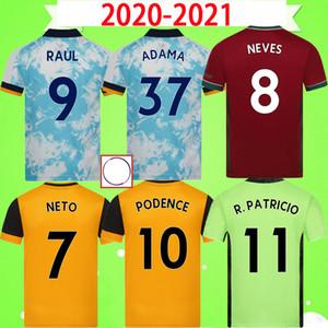 Футболка Wolverhampton Wanderers FC Версия для фанатов + игрок 2020 2021 20 21 вратарь NETO NEVES RAUL Wolves Футболка PODENCE Man + детская форма форма
