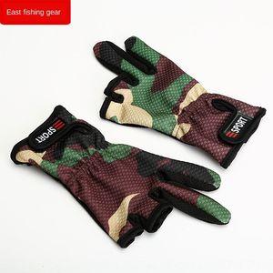 Qte7s Balıkçılık ve açıkta üç parmakla açık balıkçılık Yol Yafei eldiven tek parmak eldiven vurmak
