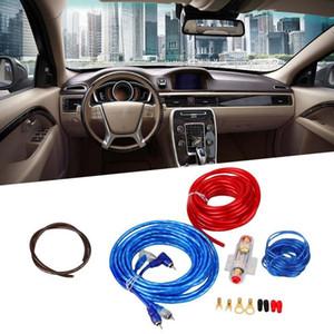 Universal 800W 8 indicador de potencia Cableado Kit Car Audio Amp Fuse Holder altavoz subwoofer Accesorios Kit de instalación
