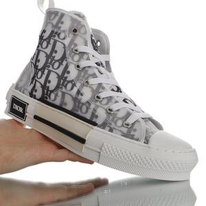 Диор Конверс Hommes Косой Kaws Ким Джонс Kanye кроссовки High Top Корзина Chaussure Мода Холст обувь Тройной Баскетбол обувь EUR36-45
